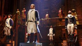"""The Chicago production of """"Hamilton"""" is at the PrivateBank Theatre through Sept. 17, 2017. (Joan Marcus / Broadway in Chicago)"""