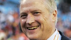 In this Feb. 4, 2007, file photo, Chicago Bears chairman Michael McCaskey is seen on the field before the Super Bowl XLI football game between the Bears and Indianapolis Colts in Miami. (AP Photo / Jeff Roberson, File)