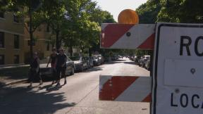 Some streets across the city are closing to vehicles and encouraging pedestrians, cyclists and rollerbladers. (WTTW News)