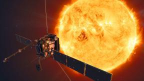 An artist's impression of Solar Orbiter. (Credit: ESA/ATG medialab)