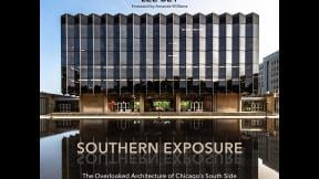 Lee Bey's new book explores architectural gems on Chicago's South Side, such as the University of Chicago's Law School. (Lee Bey / Northwestern University Press)