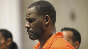 In this Sept. 17, 2019, file photo, R. Kelly appears during a hearing at the Leighton Criminal Courthouse in Chicago. (Antonio Perez / Chicago Tribune via AP, Pool, File)
