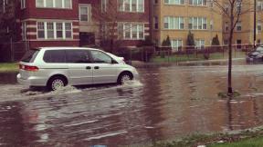 Flooding on Kimball Avenue