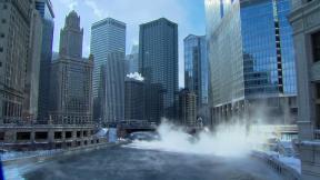 January 27, 2014 - Polar Vortex Returns to Chicago