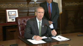 January 15, 2015 - Rauner Takes Aim At Political Hires