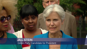 Green Party Presidential Candidate Jill Stein Tours Austin