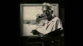 August 25, 2015 - A Look at Rare Paintings from Frank Dudley