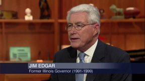 Former Gov. Jim Edgar Talks State Budget Impasse