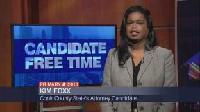 Candidate Free Time: Kim Foxx